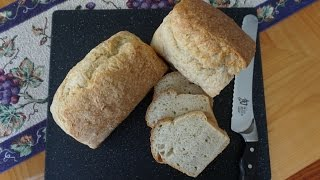 """World's Easiest Bread Recipe & Technique for Beginners (no kneading… """"hands-free"""" technique)"""