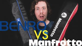 Benro Aero2 Travel Angel Opinion (VS Manfrotto BeFree Live)