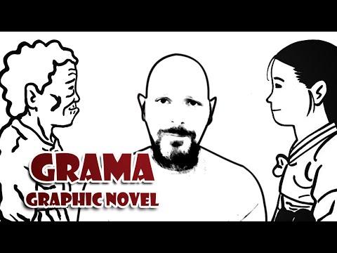 Grama, Graphic Novel Sul-coreana da Pipoca & Nanquim é uma HQ fantástica