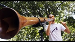 How To Play Didgeridoo For Absolute Beginners with AJ Block