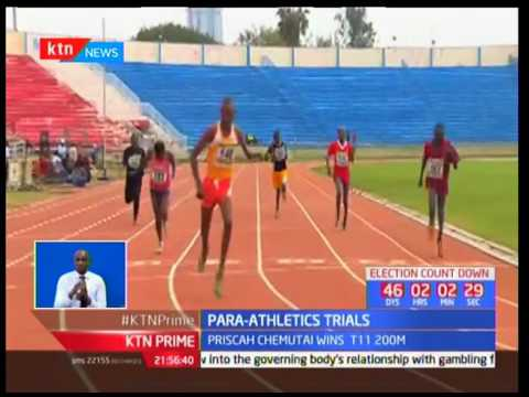 Samuel Muchai bags the 1500M title at the Para-Athletics Championships
