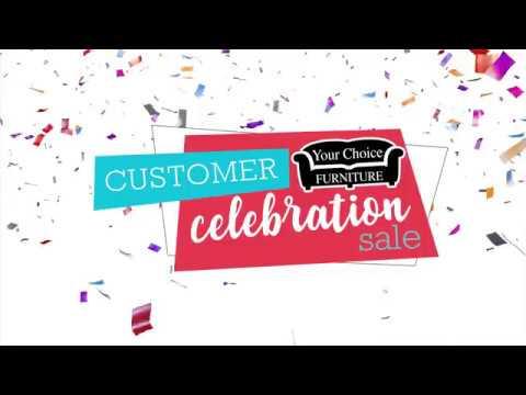 Customer Celebration Sale - TV