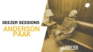 Anderson .Paak - The Season/Carry Me - Deezer LIVE