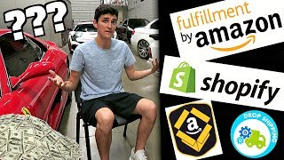 What Is Amazon FBA? What Is Drop Shipping? (ECommerce Explained)