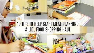 10 Tips to Start Meal Planning