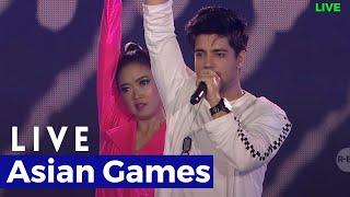 Siddharth Slathia - Live Asian Games Closing Ceremony 2018