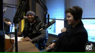 Chiddy Bang Freestyle in the KDWB Studios