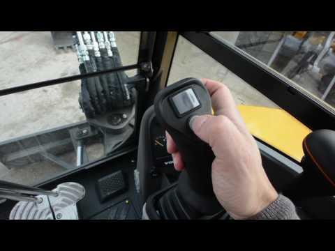 La cabina del miniescavatore Volvo CE ECR35D