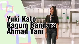Yuki Kato Kagum pada Bandara Ahmad Yani Semarang