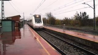 preview picture of video 'Regional (MD) Lleida - Madrid por Yunquera de Henares'