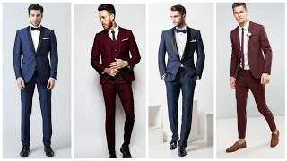 Most Beautiful Wedding Suits For Mens 2019/Texido Suits With Bow