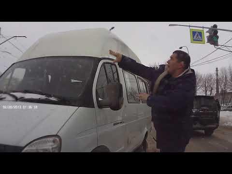 Водитель Pajero обезвредил пьяного водителя маршрутки