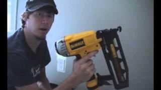 How to Use a Nail Gun - Video Tutorial