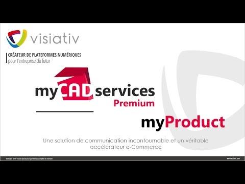 myProduct-Créez votre site web catalogues de produits CAO 3D