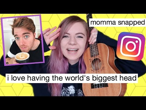 I wrote a song using only Shane Dawson's instagram captions!