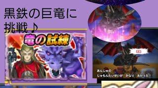 【星ドラ】パンク 竜の試練 黒鉄の巨竜に挑戦♪