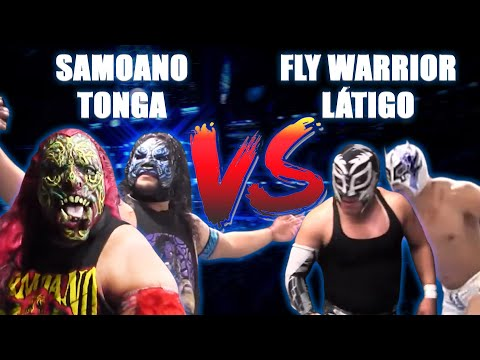 SAMOANO y Tonga Vs Fly Warrior y LÁTIGO | AAA vs ELITE en Zumpango