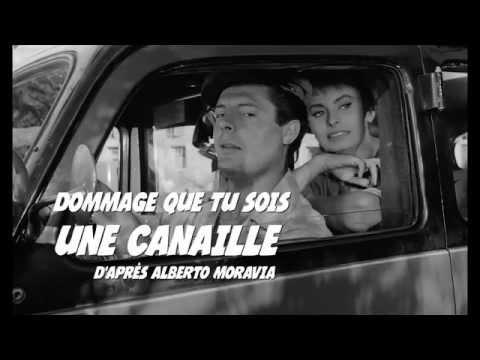 DOMMAGE QUE TU SOIS UNE CANAILLE  (Peccato che sia una canaglia) - Official trailer - 1955