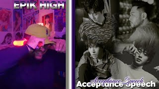 Epik High(에픽하이) - Acceptance Speech feat. B.I REACTION | SO FITTING