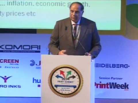 Print Summit 2014 : Pankaj Shah, Supack at Print Summit 2014