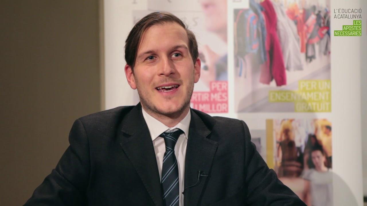 Thomas Radinger. Finançar l'educació per aconseguir equitat i eficàcia