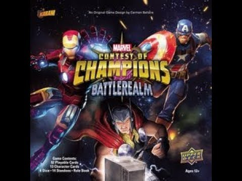 Origins 2018 Bonanza: Marvel Contest of Champion: Battlerealm Impression