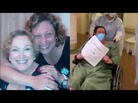 Bárbara Bruno, filha de Nicette Bruno, recebe alta após internação por Covid-19