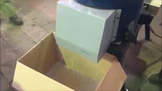 Дробилка отходов - видео 1