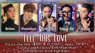 Fly to the Sky - Feel This Love (feat. MFBTY) [English subs + Rom + Hangul] (Color Coded)