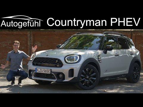 new Mini Countryman PHEV FULL REVIEW 2021 Mini Cooper SE Countryman ALL4 - Autogefühl