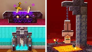 5 Building HACKS You Didnt Know In The NETHER UPDATE In Minecraft! (NO MODS!)