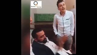الفنان نعيم الشيخ وحازم الصدير قبل سهرة القاع -- المقطع الكامل
