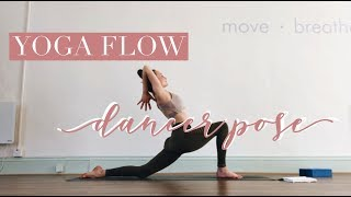 Moving Towards Dancer Pose - Yoga Flow Class