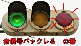 フード外れた信号機赤信号バックレるの巻宮城県仙台市太白区坪沼より