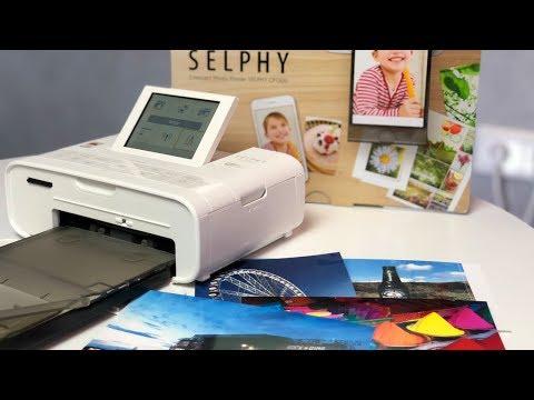 Canon Selphy Fotodrucker Review (deutsch)