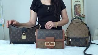 3 favorite Louis Vuitton Reverse Mono/Monogram Print handbags