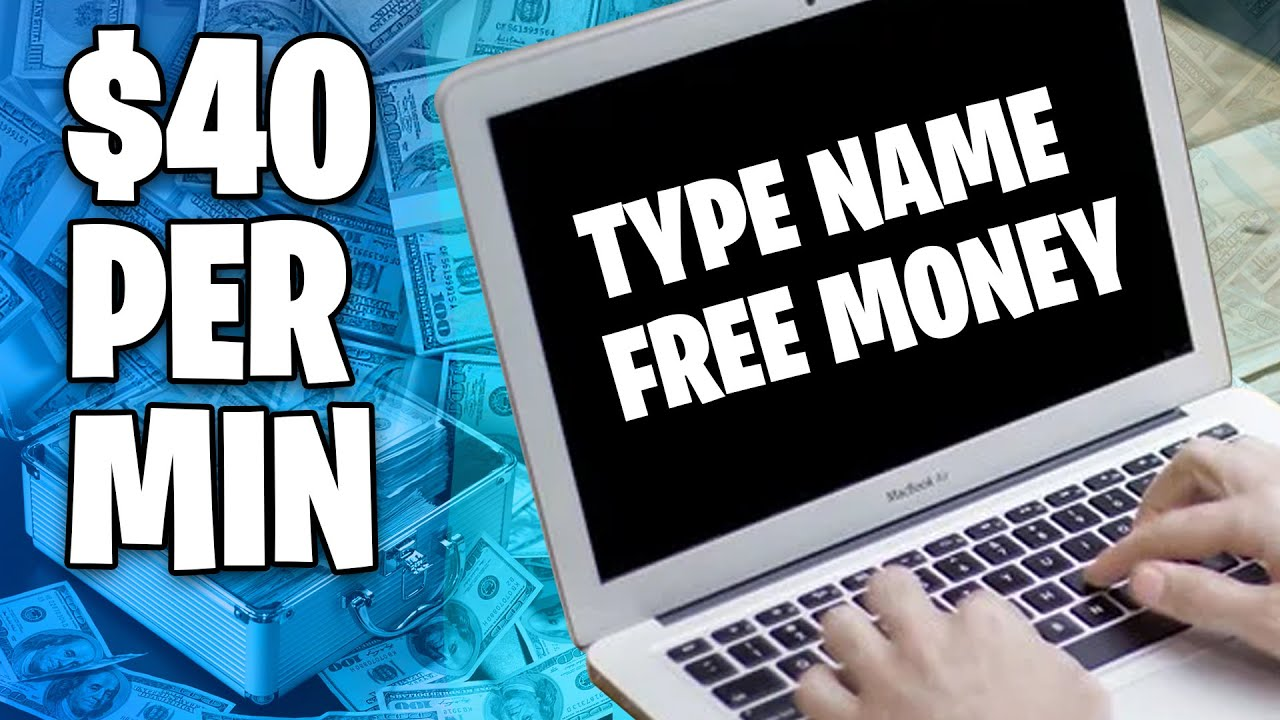 Make $40 EVERY 5 Minutes By Typing Names Online! * Available Worldwide * (Generate Income Online) thumbnail