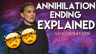 Natalie Portman Explains The Ending Of ANNIHILATION With The Cast