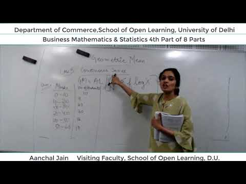 B.Com 2nd Semester (B.M.S) Lecture - Aanchal Jain  Part-4