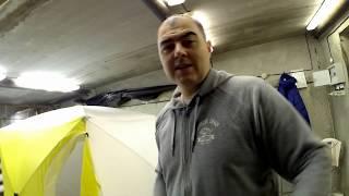 Палатка зимняя для рыбалки двухслойная