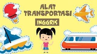 Belajar Nama-nama Alat Transportasi dalam Bahasa Inggris | Bunbun Learning Transportation