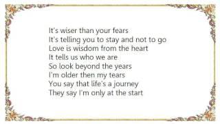 Cherie - Older Than My Years Lyrics