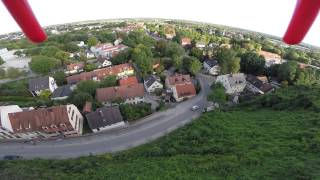 preview picture of video 'RC Logger Extreme One Quad copter with GoPro over Dachau Schloss'