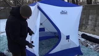 Зимняя палатка для рыбалки куб в барнауле