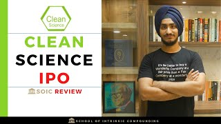 Clean Science and Technology Limited IPO review| Will it be the best listed chemical co?