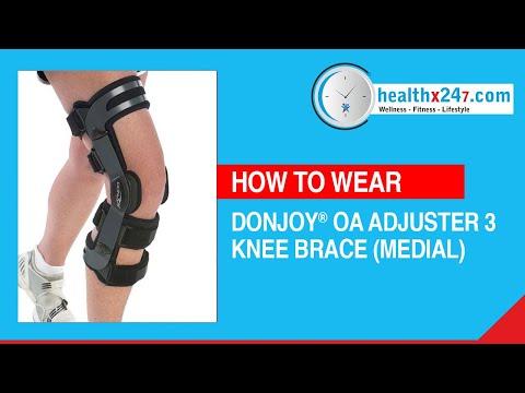 Donjoy Oa Adjuster 3 Knee Brace (Medial)