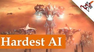 Etherium - Hardest AI vs SergiuHellDragoonHQ   Skirmish Gameplay
