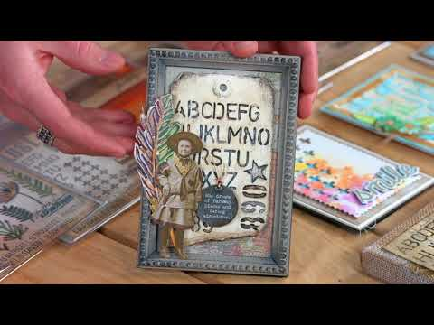 Check Out Tim Holtz's April 2018 Collection | Sizzix