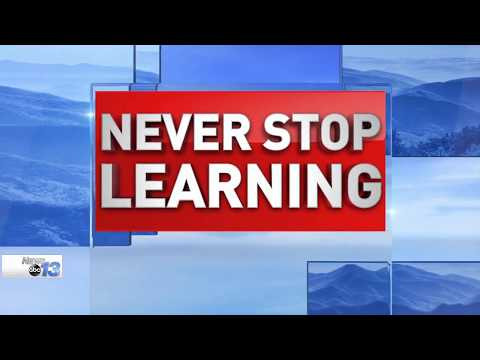 Never Stop Learning on WLOS News