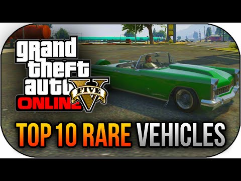 GTA 5 - Top 10 Rare & Secret Storable Vehicles In GTA 5 Online (Best Rare Car Locations Online)